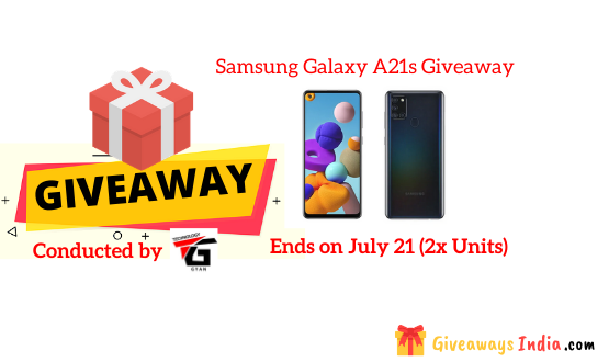 Samsung Galaxy A21s Giveaway