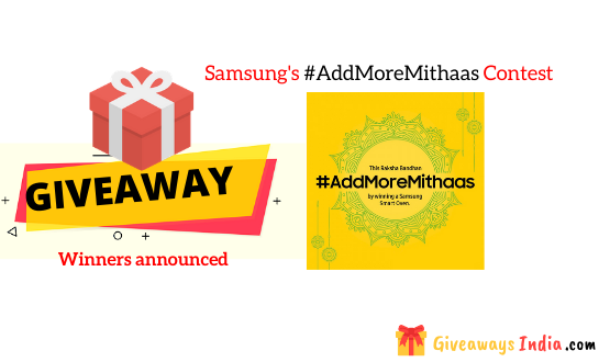 Samsung's #AddMoreMithaas Contest