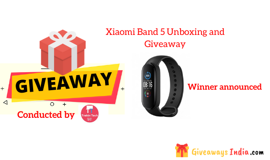 Xiaomi Band 5 Unboxing and Giveaway