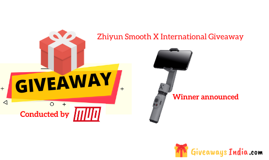 Zhiyun Smooth X International Giveaway