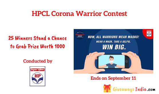 HPCL Corona Warrior Contest