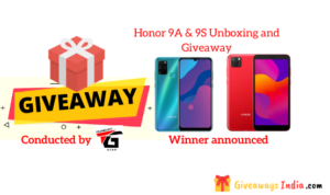Honor 9A & 9S Unboxing and Giveaway