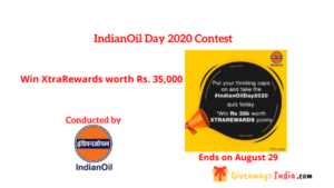 IndianOil Day 2020 Contest