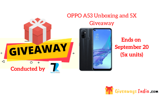OPPO A53 Unboxing and 5X Giveaway