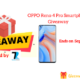 OPPO Reno 4 Pro Smartphone Giveaway