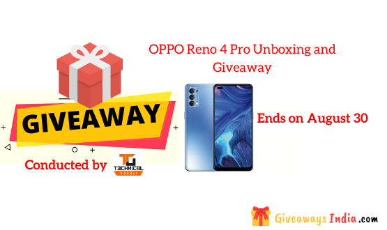 OPPO Reno 4 Pro Unboxing and Giveaway