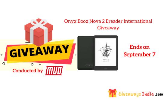 Onyx Boox Nova 2 Ereader International Giveaway