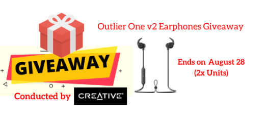 Outlier One v2 Earphones Giveaway