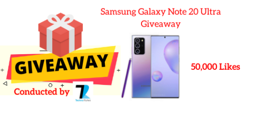 Samsung Galaxy Note 20 Ultra Giveaway