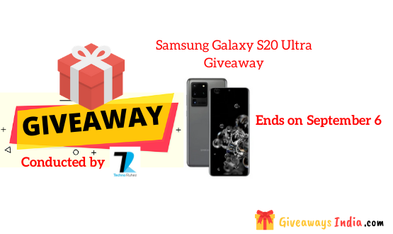 Samsung Galaxy S20 Ultra Giveaway