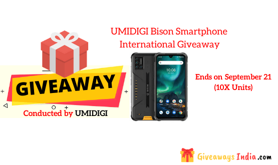UMIDIGI Bison Smartphone International Giveaway