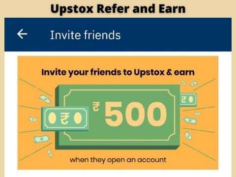 Upstox refer and earn