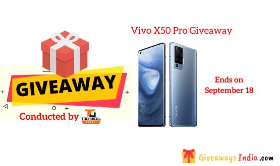 Vivo X50 Pro Giveaway
