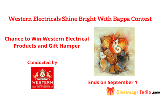 Western Electricals Shine Bright With Bappa Contest