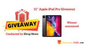 11″ Apple iPad Pro Giveaway
