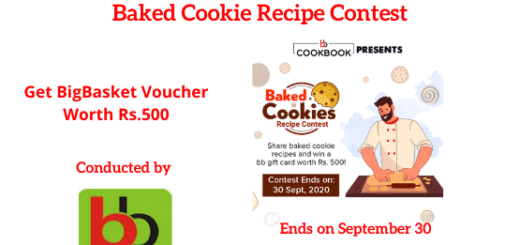 Baked Cookie Recipe Contest