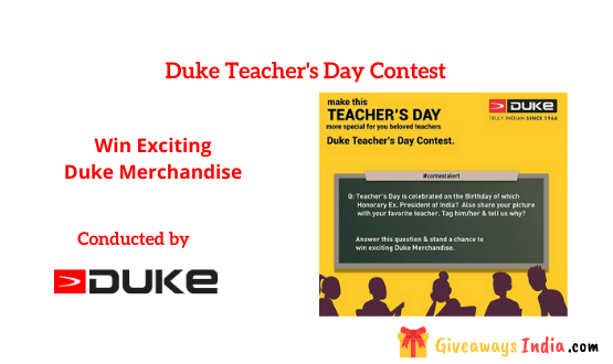Duke Teacher's Day Contest