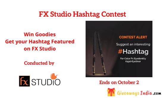 FX Studio Hashtag Contest