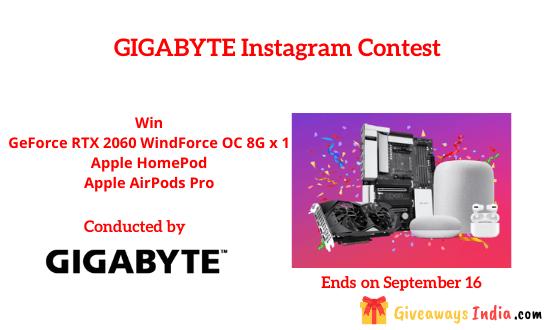 GIGABYTE Instagram Contest