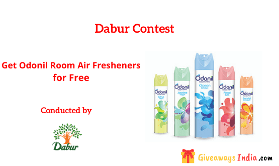 Get Odonil Room Air Fresheners for Free