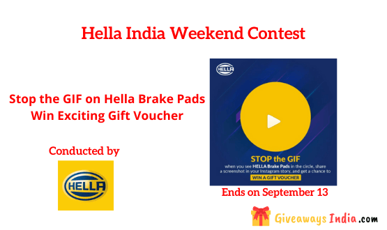Hella India Weekend Contest