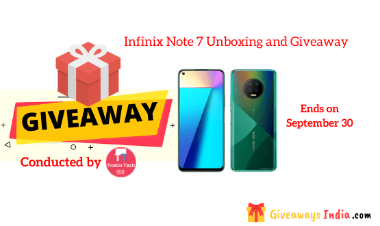 Infinix Note 7 Unboxing and Giveaway