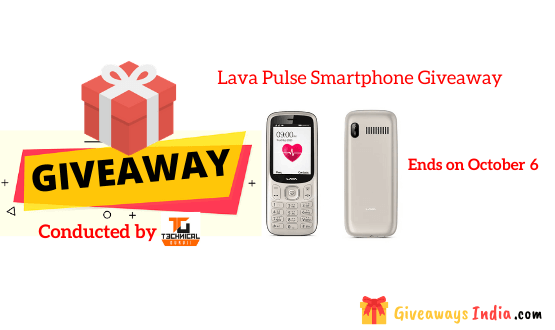 Lava Pulse Smartphone Giveaway