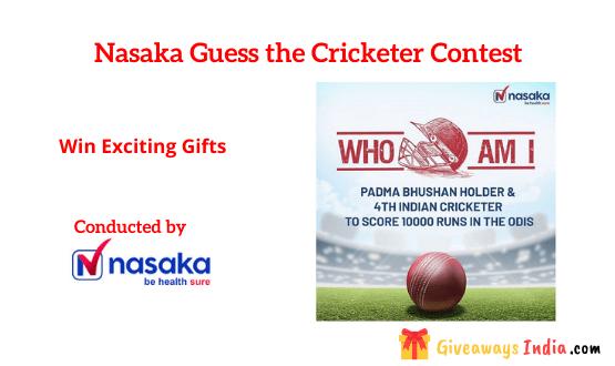 Nasaka Guess the Cricketer Contest