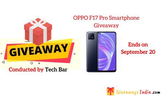 OPPO F17 Pro Smartphone Giveaway