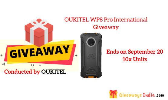 OUKITEL WP8 Pro International Giveaway