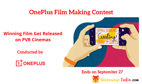 OnePlus Film Making Contest
