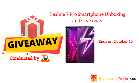 Realme 7 Pro Smartphone Unboxing and Giveaway