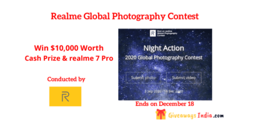Realme Global Photography Contest