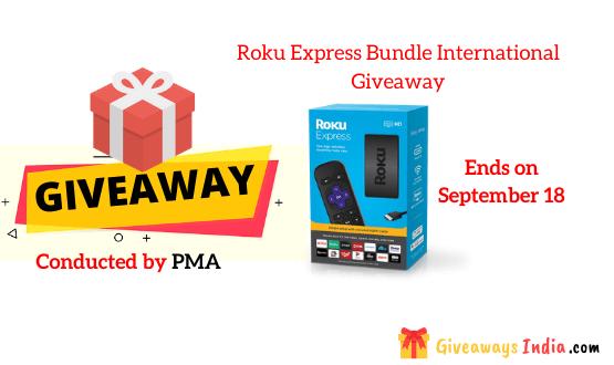 Roku Express Bundle International Giveaway