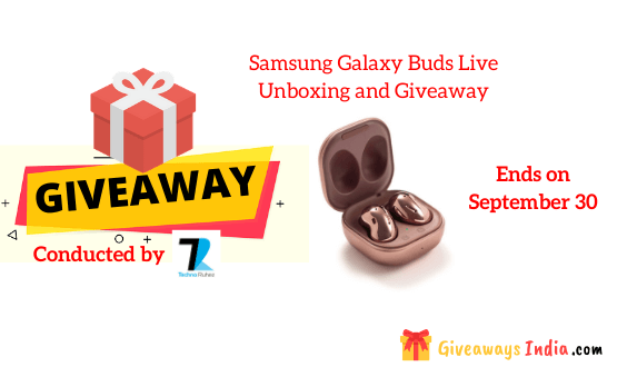 Samsung Galaxy Buds Live Unboxing and Giveaway