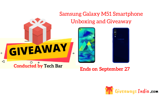 Samsung Galaxy M51 Smartphone Unboxing and Giveaway
