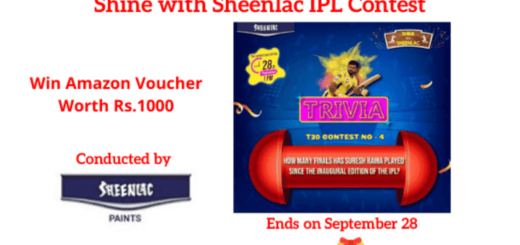 Shine with Sheenlac IPL Contest