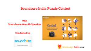 Soundcore India Puzzle Contest