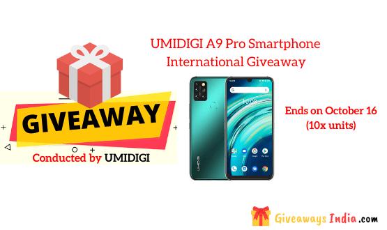 UMIDIGI A9 Pro Smartphone International Giveaway