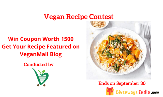 Vegan Recipe Contest
