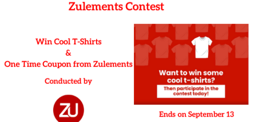 Zulements Contest to Win Branded T-Shirts