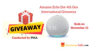 Amazon Echo Dot 4th Gen International Giveaway