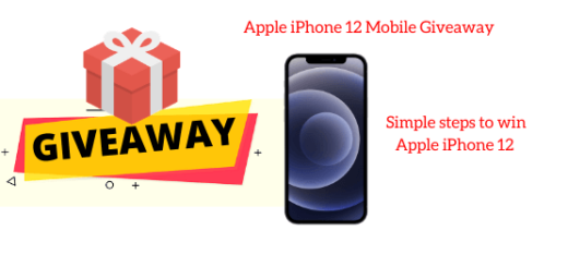 Apple iPhone 12 Mobile Giveaway