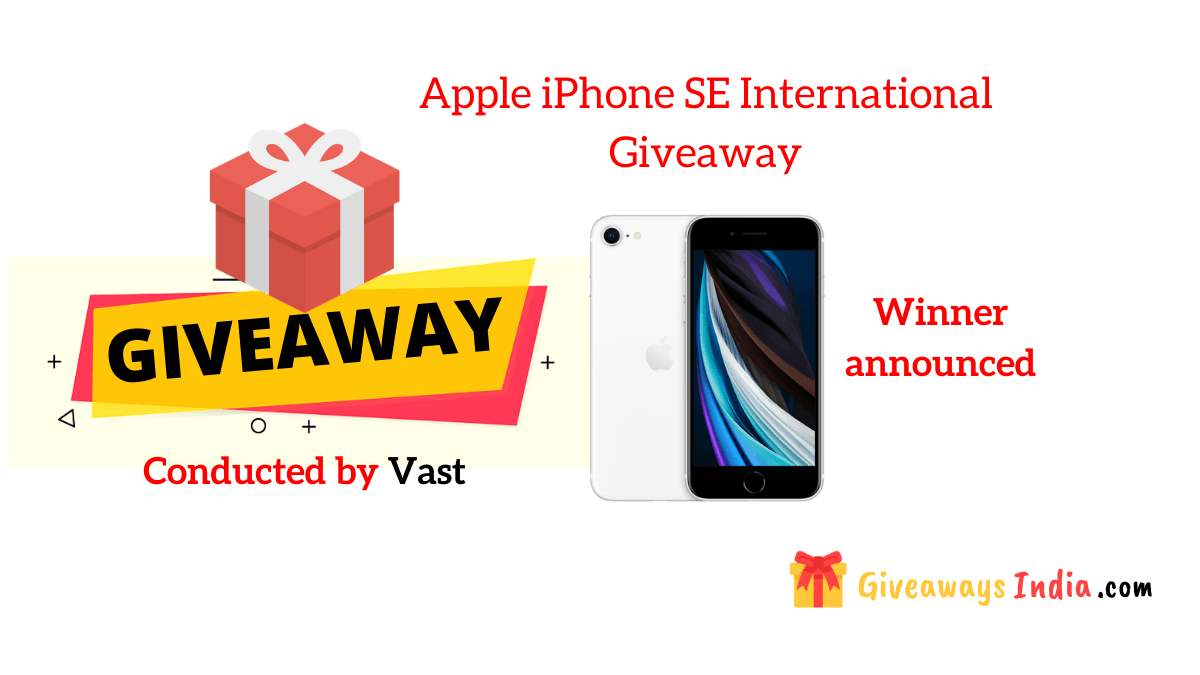 Apple iPhone SE International Giveaway