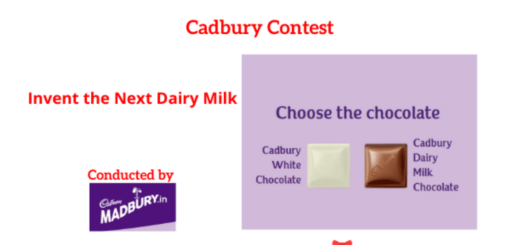 Cadbury Contest