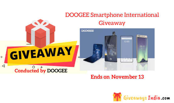 DOOGEE Smartphone International Giveaway