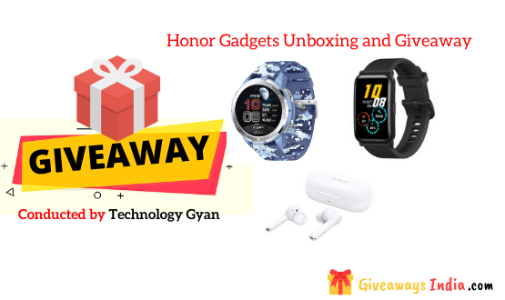 Honor Gadgets Unboxing and Giveaway