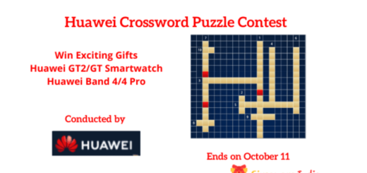 Huawei Crossword Puzzle Contest
