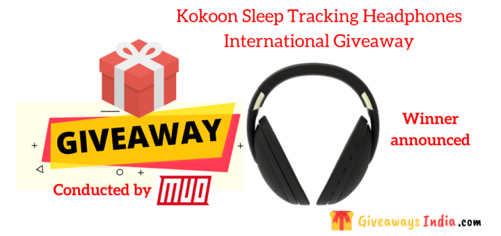Kokoon Sleep Tracking Headphones International Giveaway