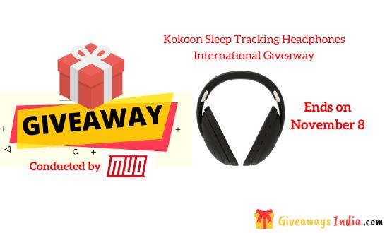 Kokoon Sleep Tracking Headphones International Giveaway